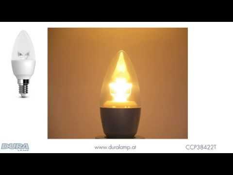 DURALAMP CCP38422T LED Kerzenlampe