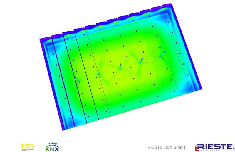 Industriebeleuchtung mit HQL Leuchten (Quecksilber - bis 2016)