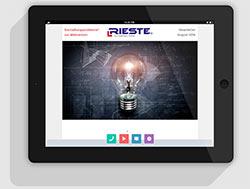 Newsletter RIESTE Licht