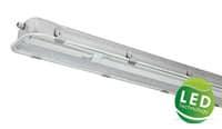 LED Wannenleuchte Feuchtraumleuchte Aluminium Industrie