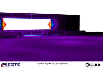 Planung Beleuchtung Helligkeit Variante 3