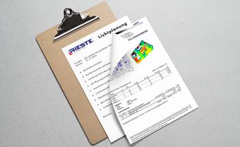 Zertifizierte Lichtplanung für LED Hallenbeleuchtung