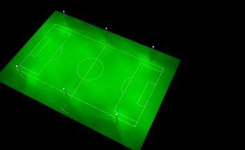 LED Fußballplatz Beleuchtung