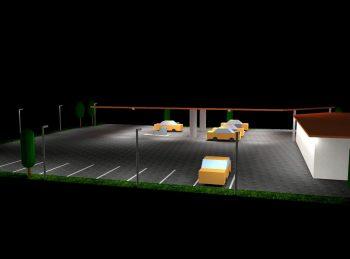LED Tankstellenbeleuchtung Planung einer Umstellung