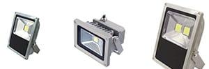 Einbruchschutz LED Fluter