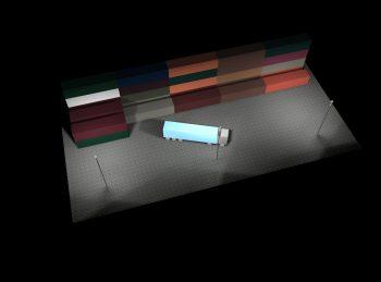 Halogen Metalldampf (HQI) Flutlicht (weißes Licht)