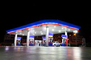 LED Tankstellen Beleuchtung