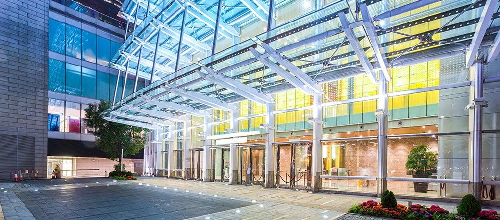LED Bürogebäude