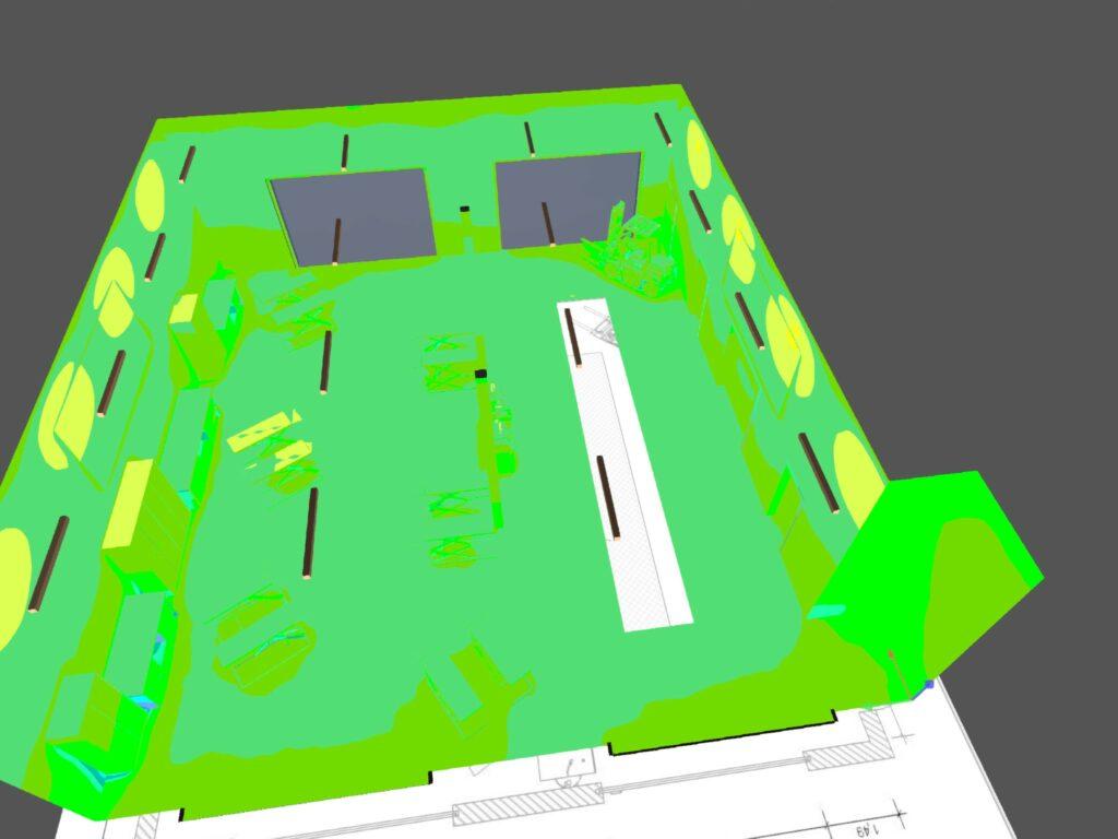 KFZ Werkstatt Licht LED Granit Parts 03
