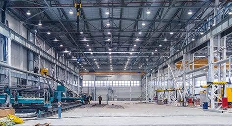 LED Hallenstrahler schon Industrietauglich