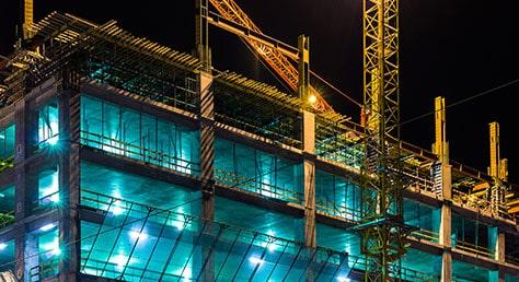 Baustellen Beleuchtung Vorschriften
