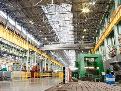 Industrie Lagerhalle