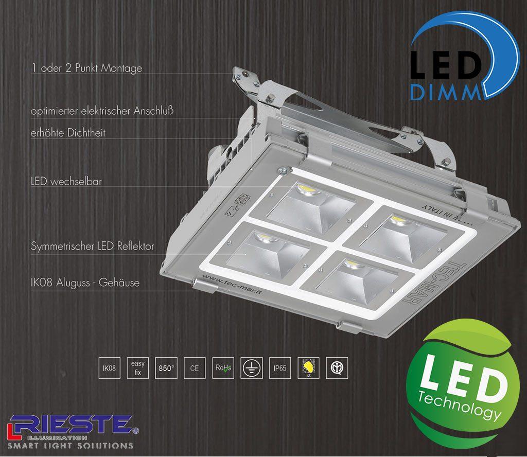 LED Hallenstrahler 200W, Beschreibung